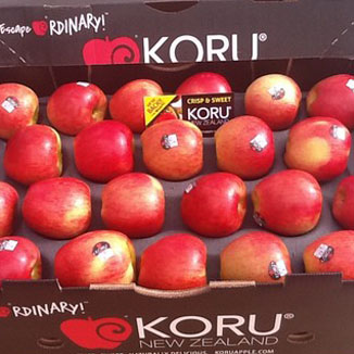 First new season KORU® Brand Apples head for US