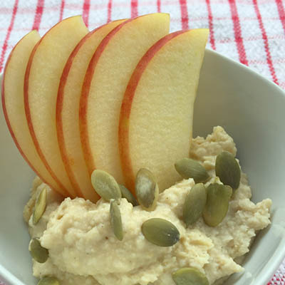 Hummus with KORU® Apple