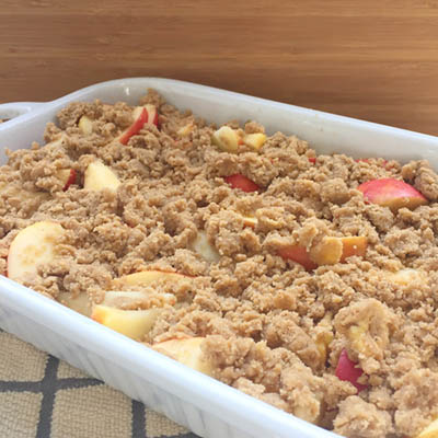 Pam's KORU® Apple Crisp