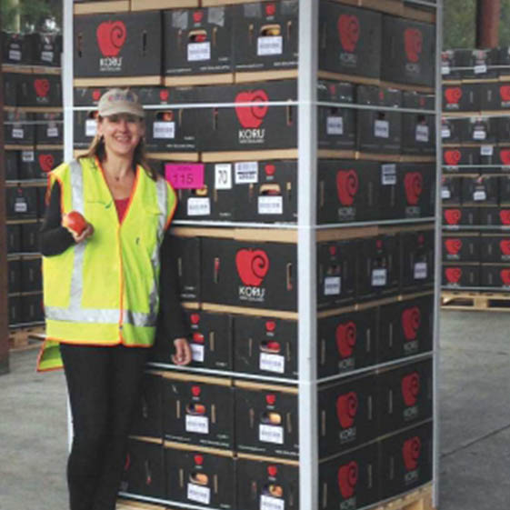 New Zealand Apple KORU® Finds Fans